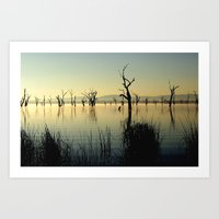 The Keepers Of The Lake Art Print