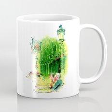 Cafe in Bruges Mug