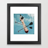 Arrows 2 Framed Art Print