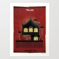 01_ARCHIDIRECTOR_federic fellini Art Print