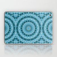 Light Blue Kaleidoscope … Laptop & iPad Skin