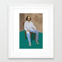 Will Framed Art Print
