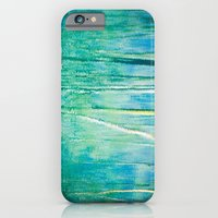 Abstract birches reflections II iPhone 6 Slim Case