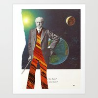 Professor OrangePants Art Print