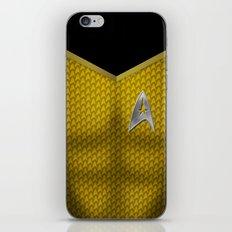Star Trek Series - Captain Suit iPhone & iPod Skin