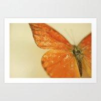 Love is like a Butterfly.... Art Print