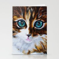 Whiskers the Cat Stationery Cards