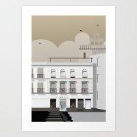 Buildings Art Print