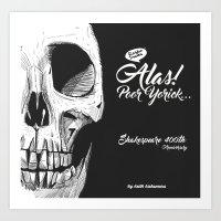 Yorick Art Print
