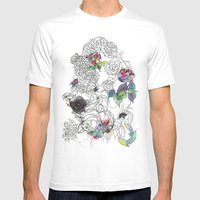 English Garden Mens Fitted Tee White SMALL