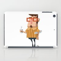 Carl Cappuccino  iPad Case