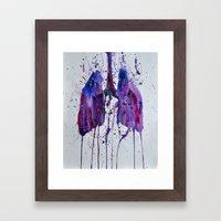 Lungs II Framed Art Print