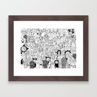 School Daze Framed Art Print