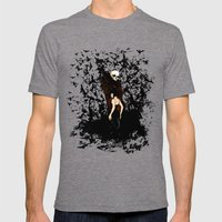 Death and the Maiden Mens Fitted Tee Tri-Grey SMALL