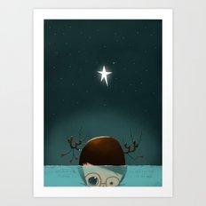 ...Under the Sea... Art Print