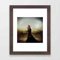 Eyes On The Prize   Fox … Framed Art Print