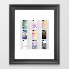 iPhone Cases by Shans Framed Art Print