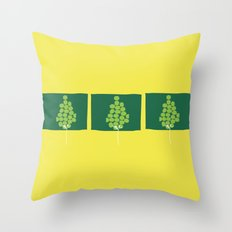 Growth by stages Throw Pillow