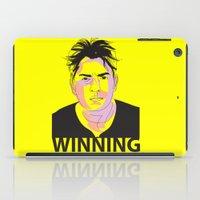 Charlie Sheen Winning_In… iPad Case