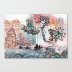 Open Door Canvas Print