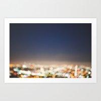 City of Angels  Art Print