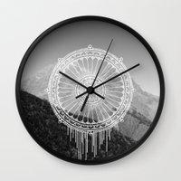 Montain Mark Wall Clock