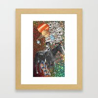 Cowboy and His Guns Framed Art Print