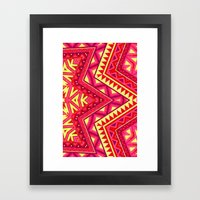 Indian Drugs Pattern 3 Framed Art Print