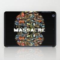 MASSACRE iPad Case