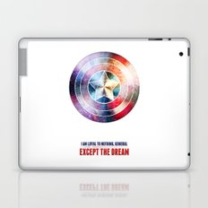 The first avenger Laptop & iPad Skin