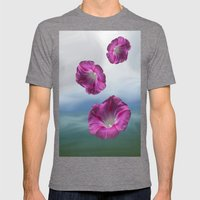 Flowers from heaven - Free shipping! Mens Fitted Tee Tri-Grey SMALL