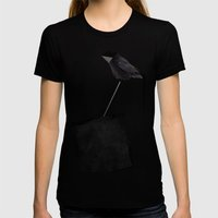 Logic Womens Fitted Tee Black SMALL