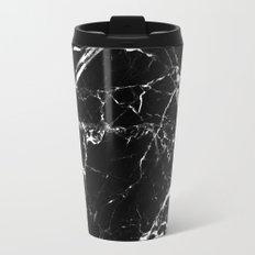 Marble Textured Print Travel Mug