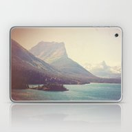 Laptop & iPad Skin featuring Retro Glacier by Kurt Rahn