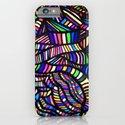 Rainbow Ribbons iPhone & iPod Case