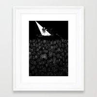 Fingerprint II Framed Art Print