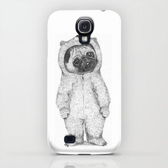 Winter pug iPhone & iPod Case