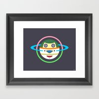 Spaceman 1 Framed Art Print
