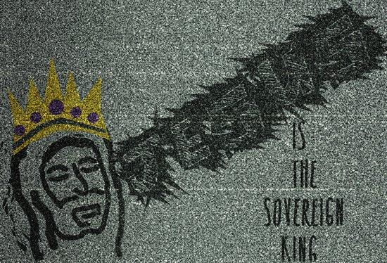 Sovereign King Art Print