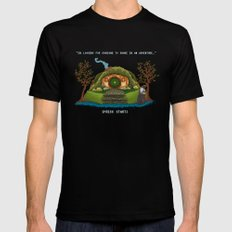 Share in an Adventure Mens Fitted Tee Black SMALL