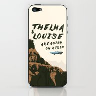 iPhone & iPod Skin featuring THELMA & LOUISE ARE GOIN… by Kaitlin Smith