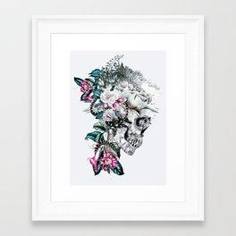Framed Art Print - Momento Mori Rev V - RIZA PEKER
