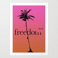 Free. Art Print
