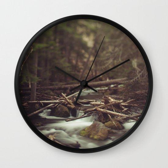 Cold Spring Creek Wall Clock