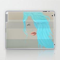Emo Girl-Grey Laptop & iPad Skin