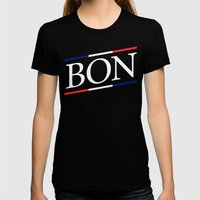 BON II Womens Fitted Tee Black SMALL