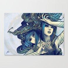Zodiac Sign: Gemini Canvas Print