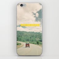 NEVER STOP EXPLORING - V… iPhone & iPod Skin