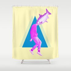 A Perfect Day For Banana… Shower Curtain