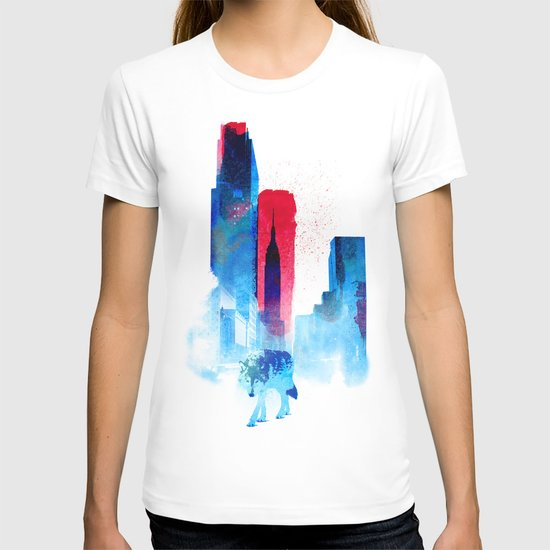 The wolf of the City T-shirt